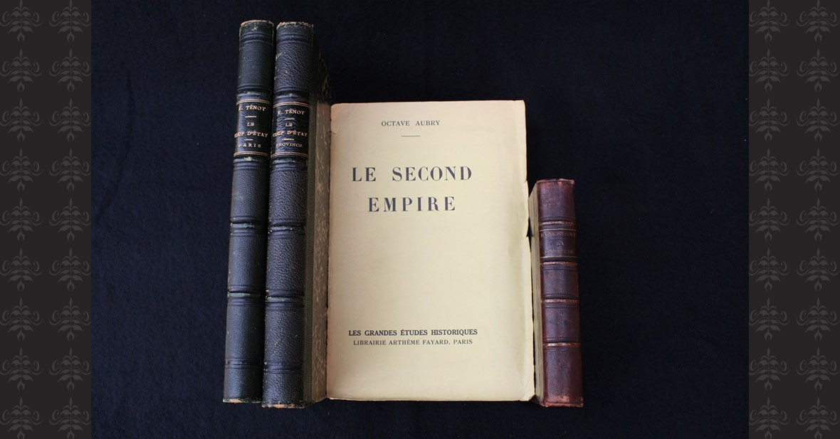 SECOND EMPIRE - 4 volumes