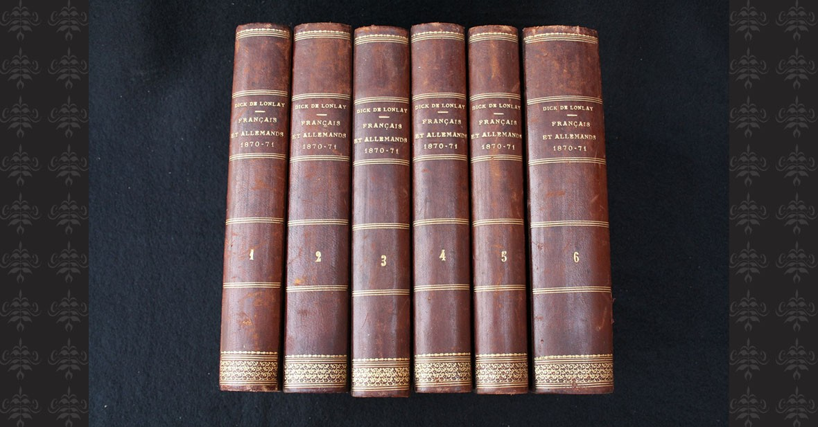 GUERRE 1870 - 6 volumes