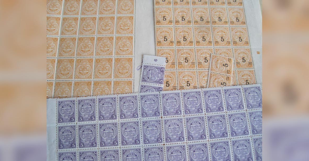 Luxembourg - timbres neufs