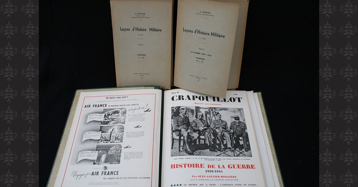 GUERRE 1939-1945 - 3 volumes