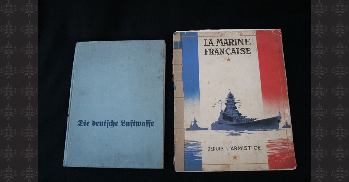 GUERRE 1939-1945 – AVIATION ALLEMANDE et MARINE FRANCAISE - 2 volumes