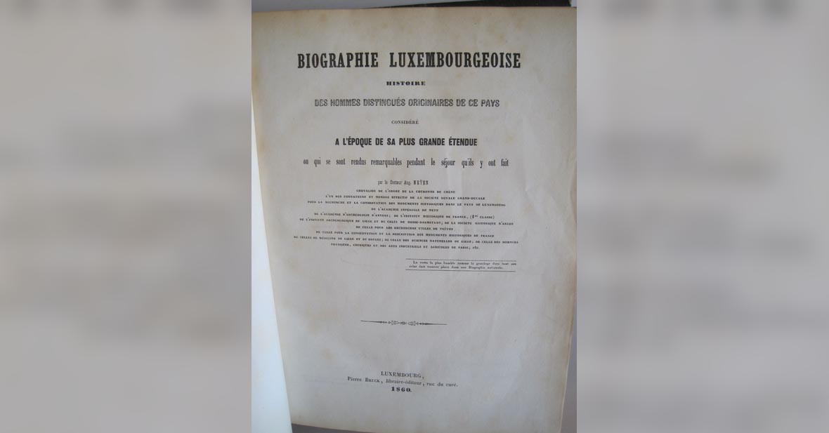 Edition luxembourgeoise