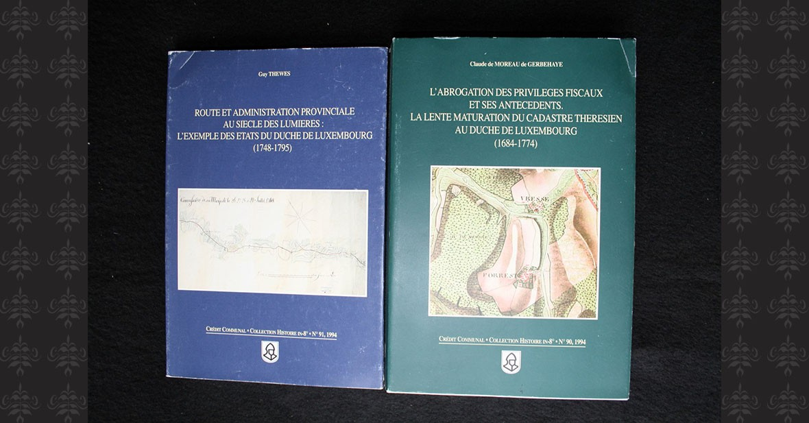 CADASTRE LUXEMBOURGEOIS - 2 volumes