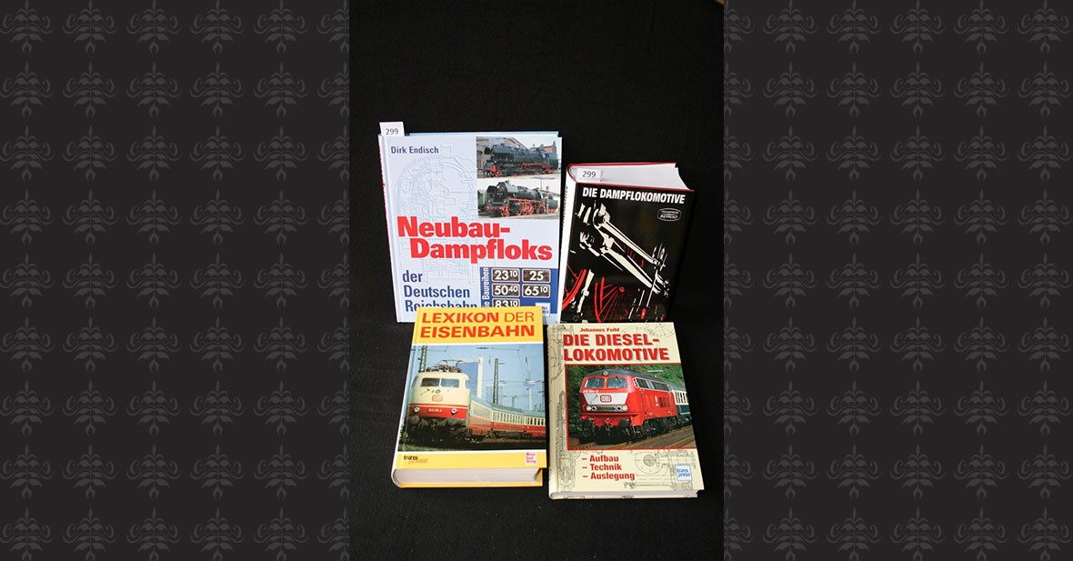 LOCOMOTIVE - DAMPFMASCHINEN – 4 volumes