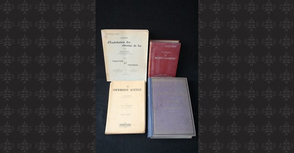LOCOMOTIVE – 4 volumes