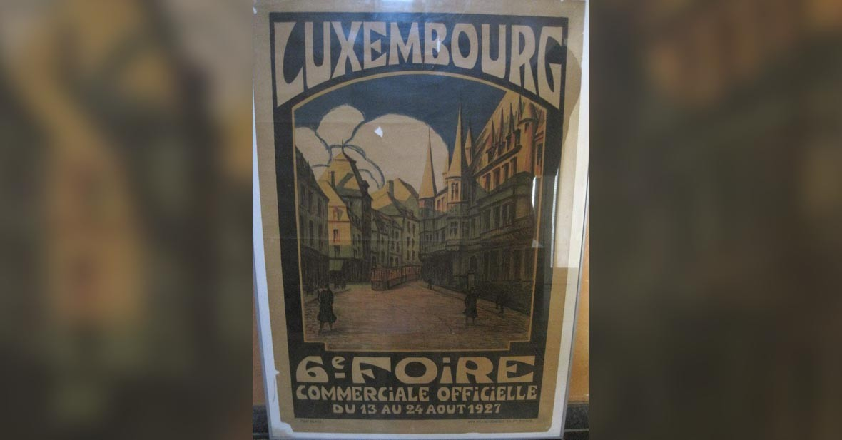 Luxembourg - affiche