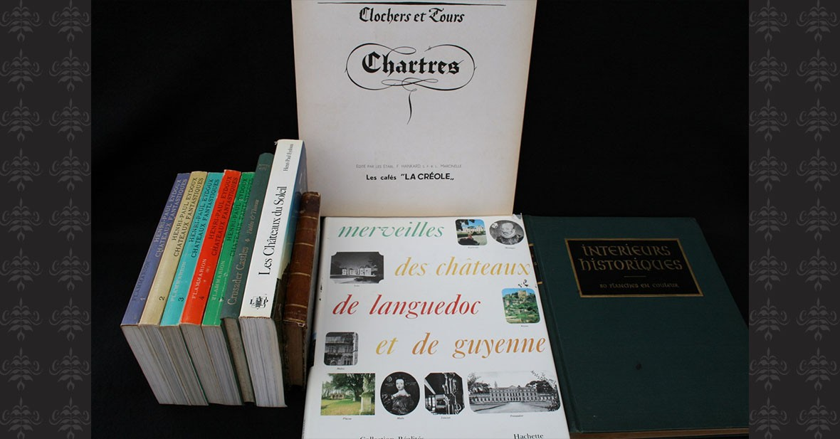 CHATEAUX – 16 volumes