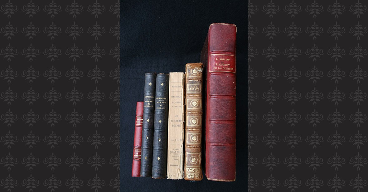 PENSEES MILITAIRES – 6 volumes