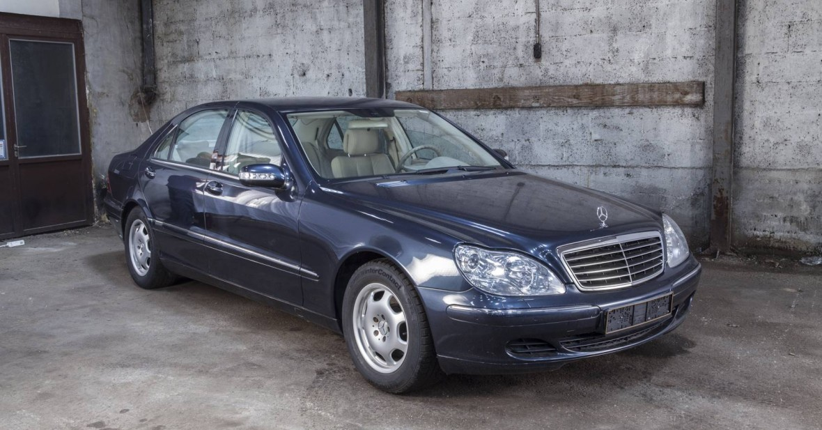 Mercedes 220 s350 Long (180 KW)