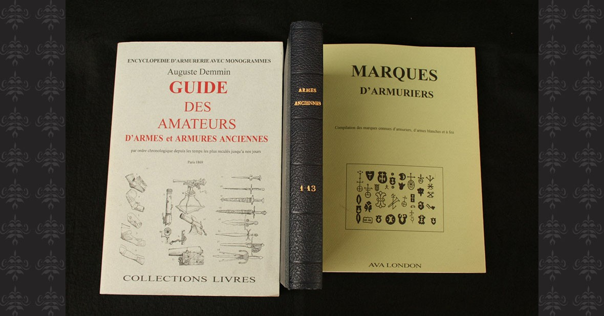 ARMES ANCIENNES – ARMURES – 3 volumes